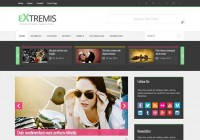 extremis-responsive-free-blogger-templates