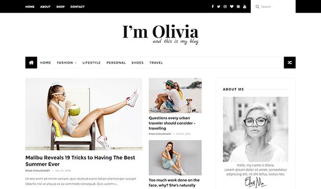 Olivia Blogger Template Documentation | Themexpose