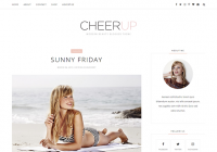 cheerup-blogger-template