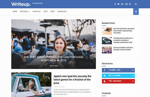 writeup-blogger-template-full-template