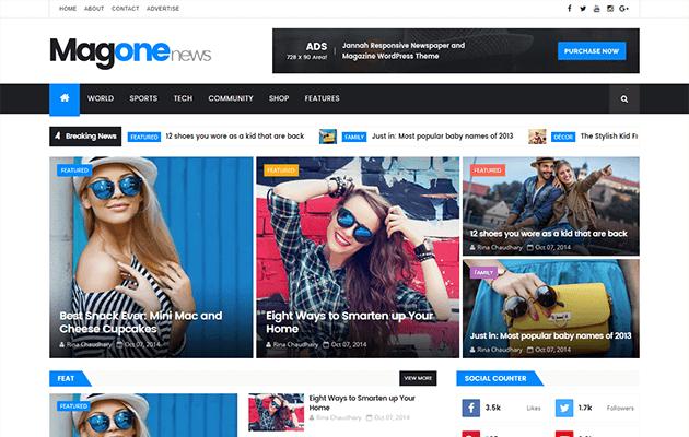 MagOne Blogger Template Documentation | Themexpose