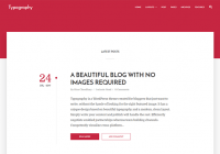 typography-minimal-blogger-template