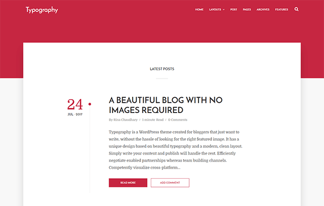 post template blogger code - typography blogger template documentation themexpose