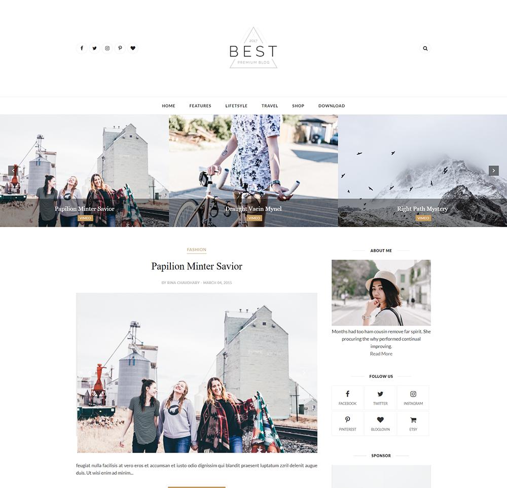 Best Blogger Template Documentation Themexpose
