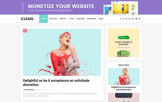 Clean Blogger Template Documenation | Themexpose